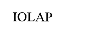 mark for IOLAP, trademark #75806282