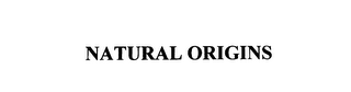 mark for NATURAL ORIGINS, trademark #75807017
