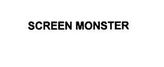 mark for SCREEN MONSTER, trademark #75813068