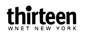 mark for THIRTEEN WNET NEW YORK, trademark #75814250