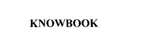 mark for KNOWBOOK, trademark #75817064