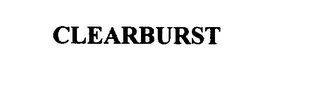mark for CLEARBURST, trademark #75817296