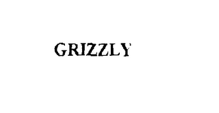 mark for GRIZZLY, trademark #75818525