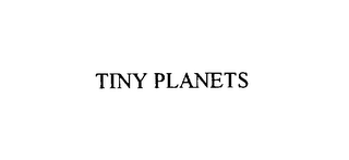 mark for TINY PLANETS, trademark #75818674