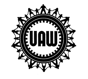 mark for UAW, trademark #75819209