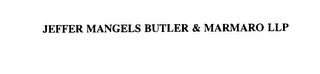 mark for JEFFER MANGELS BUTLER & MARMARO LLP, trademark #75821293