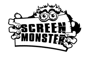 mark for SCREEN MONSTER, trademark #75823468