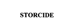 mark for STORCIDE, trademark #75824115