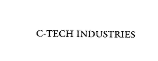 mark for C-TECH INDUSTRIES, trademark #75826585