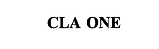 mark for CLA ONE, trademark #75828660