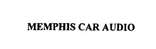 mark for MEMPHIS CAR AUDIO, trademark #75829320