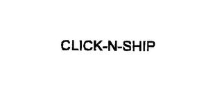 mark for CLICK-N-SHIP, trademark #75830616