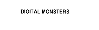 mark for DIGITAL MONSTERS, trademark #75832435