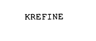 mark for KREFINE, trademark #75833950