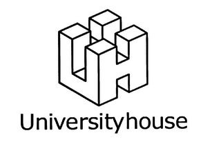 mark for UH UNIVERSITYHOUSE, trademark #75840126