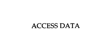 mark for ACCESS DATA, trademark #75842374