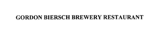 mark for GORDON BIERSCH BREWERY RESTAURANT, trademark #75849773