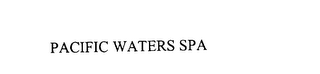 mark for PACIFIC WATERS SPA, trademark #75851264