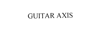 mark for GUITAR AXIS, trademark #75851732