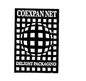mark for COEXPAN NET DELIGHT PACKAGING, trademark #75852714