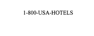 mark for 1-800-USA-HOTELS, trademark #75854465