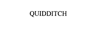 mark for QUIDDITCH, trademark #75858041