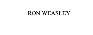mark for RON WEASLEY, trademark #75858154