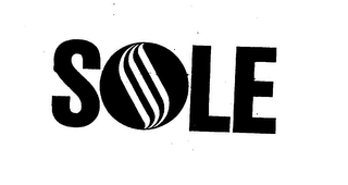 mark for SOLE, trademark #75859166
