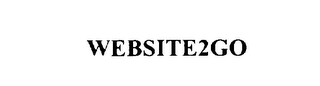 mark for WEBSITE2GO, trademark #75861251