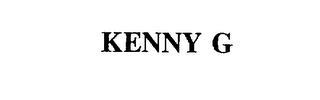 mark for KENNY G, trademark #75863618