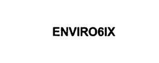 mark for ENVIRO 6IX, trademark #75864332