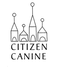 mark for CITIZEN CANINE, trademark #75866118