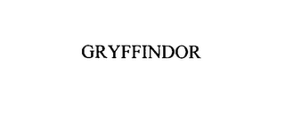mark for GRYFFINDOR, trademark #75866800