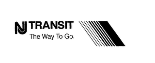 mark for NJ TRANSIT THE WAY TO GO., trademark #75869297