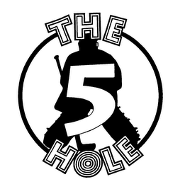 mark for THE 5 HOLE, trademark #75869309