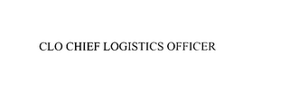 mark for CLO CHIEF LOGISTICS OFFICER, trademark #75869793