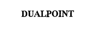 mark for DUALPOINT, trademark #75876392