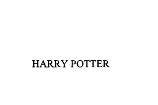 mark for HARRY POTTER, trademark #75881862