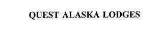 mark for QUEST ALASKA LODGES, trademark #75888315