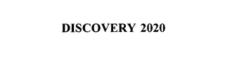 mark for DISCOVERY 2020, trademark #75888461