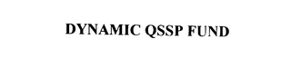 mark for DYNAMIC QSSP FUND, trademark #75889468