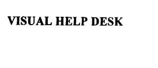 mark for VISUAL HELP DESK, trademark #75889507