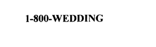 mark for 1-800-WEDDING, trademark #75889736