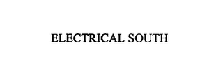 mark for ELECTRICAL SOUTH, trademark #75892993