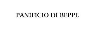 mark for PANIFICIO DI BEPPE, trademark #75893360