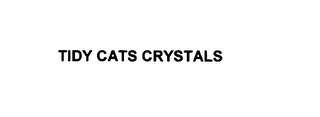 mark for TIDY CATS CRYSTALS, trademark #75893750