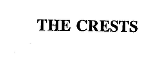 mark for THE CRESTS, trademark #75893843