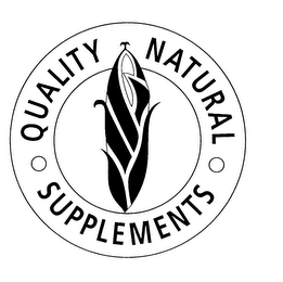 mark for QUALITY NATURAL SUPPLEMENTS, trademark #75894452