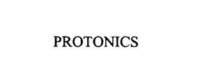 mark for PROTONICS, trademark #75894618