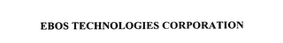 mark for EBOS TECHNOLOGIES CORPORATION, trademark #75894735